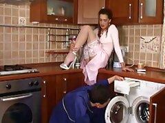 مدل پورن عکس سکسی خارجی متحرک بالغ شاخی در جوراب ساق بلند لعنتی می شود