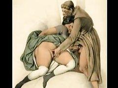 مدل پورنو جوان ناخوشایند شریک زندگی خود را در تنش نگه می دارد و مشتاقانه او را به دام کیرتو کس متحرک می اندازد